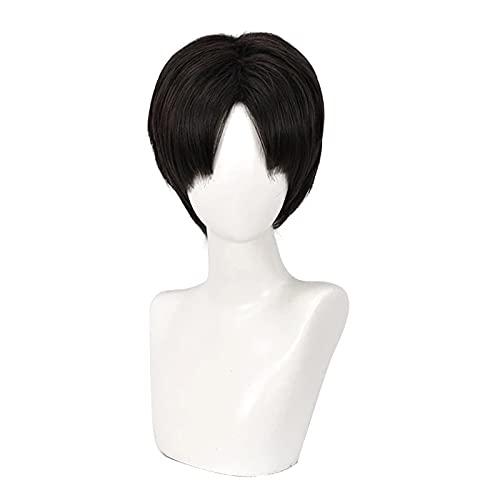 Anime Killing Stalking Yoon Bum Yoonbum corto negro resistente al calor disfraz Cosplay peluca + gorro de peluca