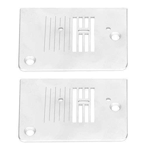 Placa de aguja para máquina de coser de 2 piezas compatible con la máquina de coser SINGER 1408/2250