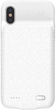 Capa Carregadora iPhone X 3.500Mah Bateria Extra, Baseus Branca
