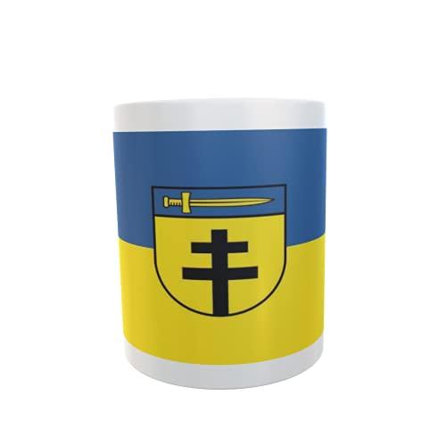 U24 Tasse Kaffeebecher Mug Cup Flagge Dornstadt