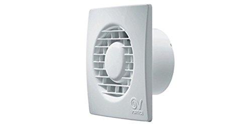 Vortice Aspiratore Elicoidale Ventilatore Punto Filo per ricambio aria bagno con valvola anti ritorno 220 240 V 50 Hz (11125 (Diametro Nominale Condotto 150 mm))