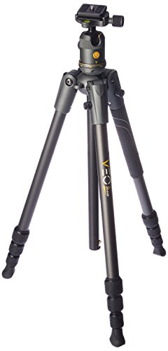Vanguard VEO 2 204AB Black Aluminum Travel Tripod