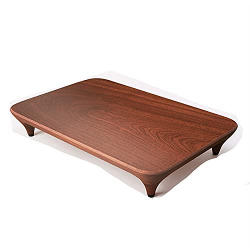 Tablero de corte grande creativo Solid tablero de tajadero Tablero de cocina Ebony Wood Conveniencia for verduras y frutas (Color : 40x28x6cm)