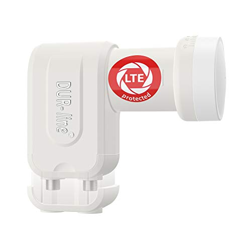 DUR-line + Ultra LNB - con filtro LTE [Test SEHR GUT ] X, digitale, Full HD, 4K, 3D, vincitore - qualità premium.