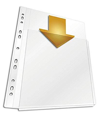 Durable 266719 Abhefthülle für Kataloge A4 Maxi, Beutel mit 5 Stück, transparent