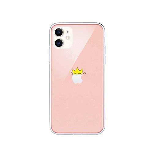 LPZOOOM Liquid Crystal Kompatibel mit iPhone 6 Plus Hülle, Ultra Transparent Weiche Dünn Silikon Stoßfest Schutzhülle 3D Muster Kratzfest Handyhülle für iPhone 6S Plus Slim Case Cover- Crystal Clear