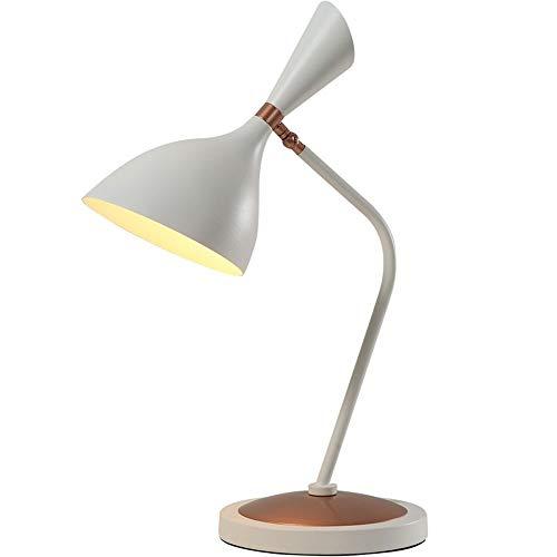 Liangsujiantd Flexo Led Escritorio, Escritorios LED Lámpara de mesa 2 en 1, lámpara de escritorio con cabeza oscilante con abrazadera de metal, lámpara de mesa de hierro, escritorio de oficina con lám