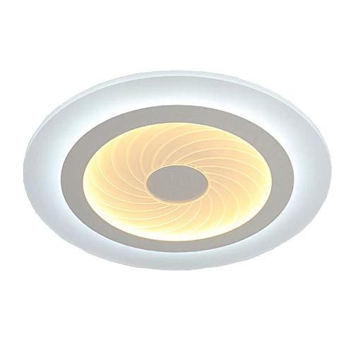 Style home LED Deckenlampe 6902 54W ultraslim voll dimmbar mit Fernbedienung rund ultraflach