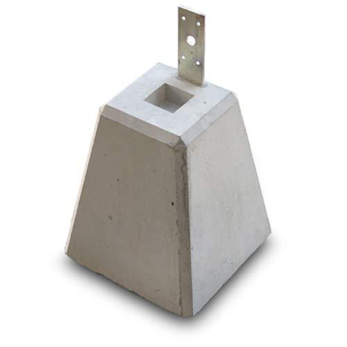 束石 プレート付き 高24cmx6個