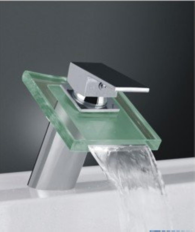 Caribou Waschtischarmatur Wasserhahn Spültisch Küche Waschtisch Waschenbecken Bad Wasserfallglas