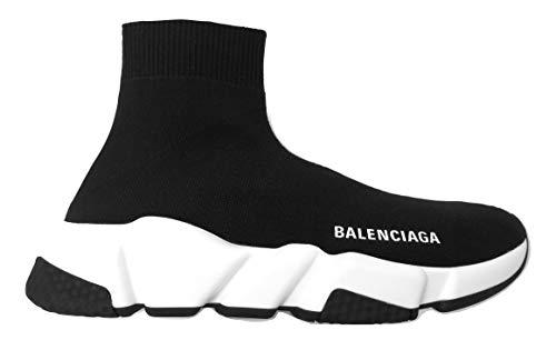 Balenciaga Sneaker Schuh Speed Damen Stoffsocke Gummi 587280W05G91000 Schwarz, Schwarz - Schwarz  - Größe: 37 EU