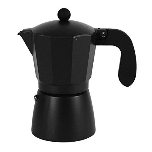 San Ignacio Cafetera 6T Soft Touch Darkblack Negro, Aluminio, Polipropileno