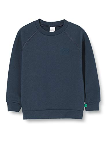 Fred'S World By Green Cotton Sweatshirt Sweat-Shirt À Capuche, Bleu (Midnight 019411006), 92 Bébé garçon
