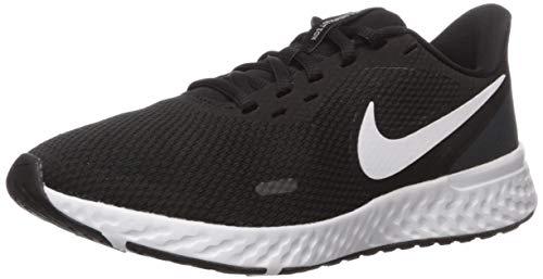 Nike Women's Revolution 5 Running Shoe, Black/White-Anthracite, 8 Wide US