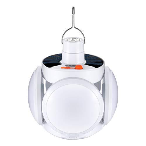 Linterna de Camping Farol de acampada LED USB Recargable Farol Camping 5 Modos de Iluminación Luz de Emergencia Luz Camping Plegable para Pesca, Montaña, Excursión, Jardín, Patio IPX4 Impermeable