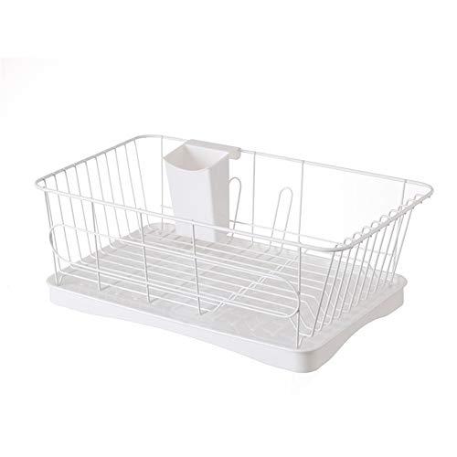WyaengHai afdruiprek vaatdroogrek keukengerei afwasbaar zitting en afdruipplaat geschikt voor gebruik in wastafel