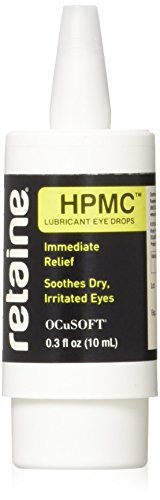 OCuSOFT Retaine HPMC 10 Milliters, Preservative-Free Lubricant Eye Drops