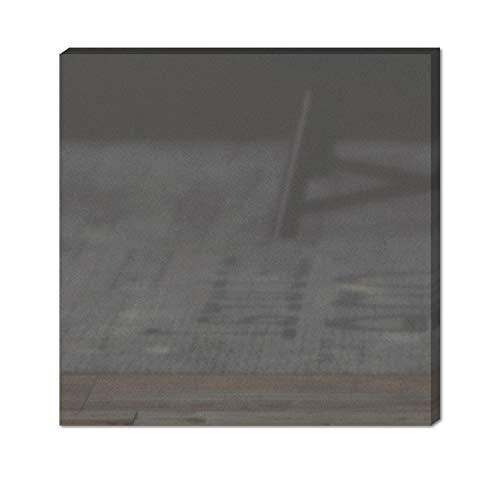 Stil.Zeit Farbmuster Möbel Fronten und Korpusse/Maß:10x20x1,5cm / Farbe Hochglanz Graphit