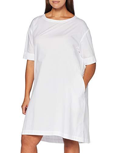 United Colors of Benetton Damen Vestito Kleid, Bianco 101, M