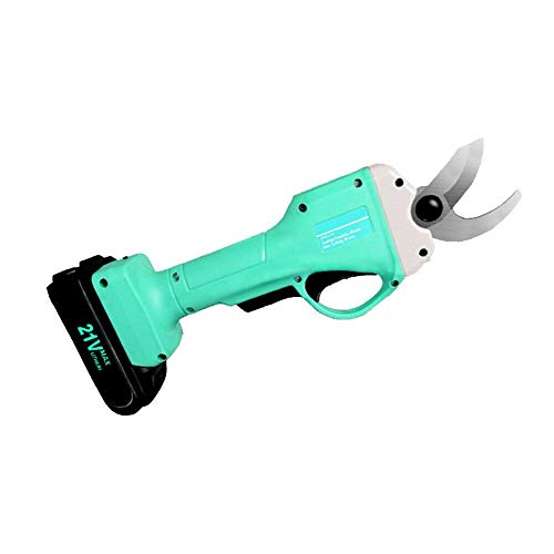 Review SEAAN Electric Pruning Shears Trimmer 25mm Branch Cutter Cordless with 2 Backup 21V Li-ion Ba...