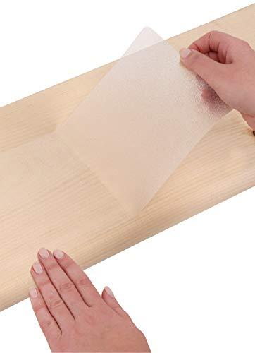 Antirutsch-Band für Treppenstufen 15x76cm (14er-Set) – Rutschschutz Antirutsch-Streifen für Treppen, Selbstklebend Transparent Durchsichtig Klar