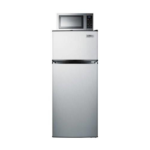 Summit MRF1159SS Refrigerator Microwave Combination, Stainless-Steel