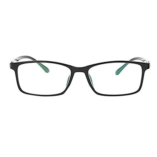 Fuyingda Ultra Licht Schwarz Rahmen Kurzsichtigkeit Brille, Frauen Männer Kurzsichtige Brillen Kurzsichtig Goggles Spectacles Eyewear -0.5 Stärke