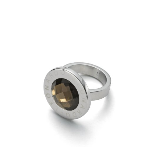 Leonardo Jewels Classic Damen-Ring braun Matrix Gr. 16