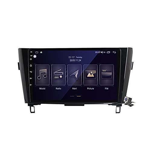 Gokiu Android 10 2 DIN Radio De Coche Navegacion GPS para Nissan X-Trail Qashqai 2013-2017 Soporte 5G WiFi DSP/FM Am RDS Radio de Coche Estéreo Carplay Android Auto/Bluetooth SWC,M150