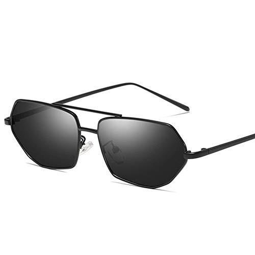 XYLZDPZ Syczdnmj Classic Extragrande Cuadrado Retro Gafas de Sol de Las Mujeres, Irregulares Marca con Sombras, Ajuste for al Aire Libre, esquí, Vacaciones, Conducción Pesca Gafas de Sol Hombre