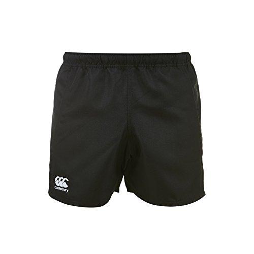 Canterbury Advantage Rugby Pantalones Cortos, Hombre, Negro, L