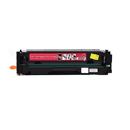 YXYX Toner compatible para HP206A Cartucho de repuesto para HP Color LaserJet Pro MFP M255dw M255nw M282N 282NW 283FW M283FDW Cinta de tinta de impresora, calidad orientada magenta