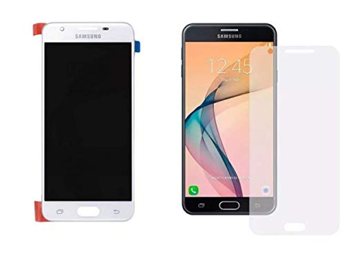 Kit Tela Display Lcd Touch Screen Samsung Galaxy J5 Prime G570 Branco + Película de Vidro Galaxy J5 Prime G570