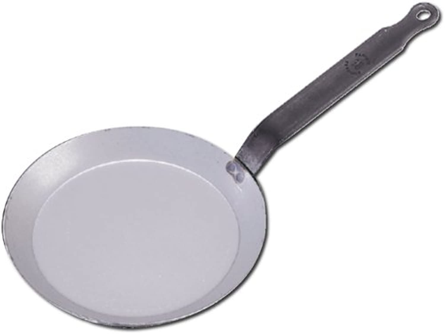 De Buyer Professional 30 cm Carbone Plus White Iron Round Crepe and Pancake Pan 5120.30