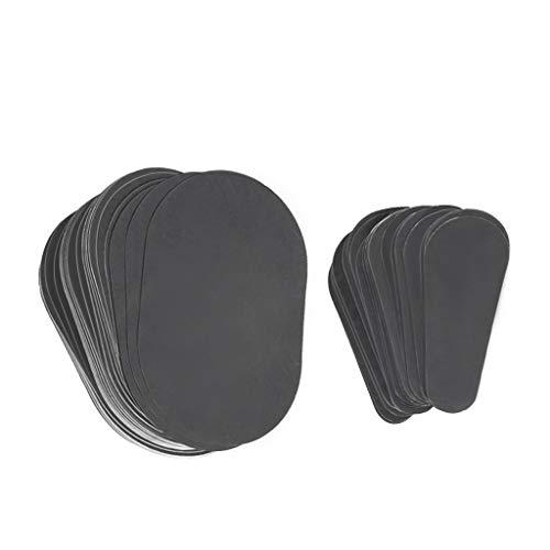 80 Stück Haarentfernungsset, Baoblaze Enthaarungspads Set, Haarentfernung Pads Schmerzfrei für Eine Sanfte Haarentfernung
