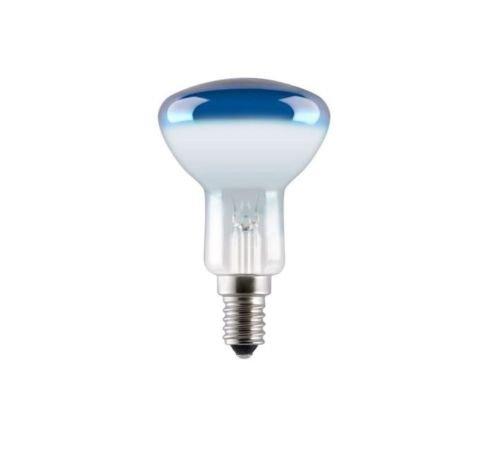 GE Reflektor Glühbirne R50 40W Blau E14 Glühlampe Dimmbar Leuchte Lampe 40R50