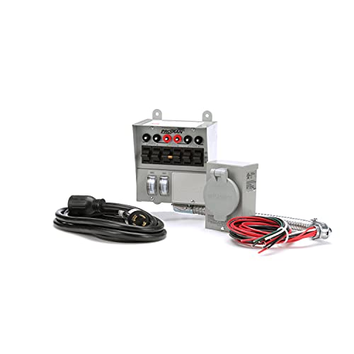 Corporation  30 Amp 6-circuit Pro/Tran Transfer Switch Kit for Generators (7500 Watts).,Gray - Reliance Controls 31406CRK