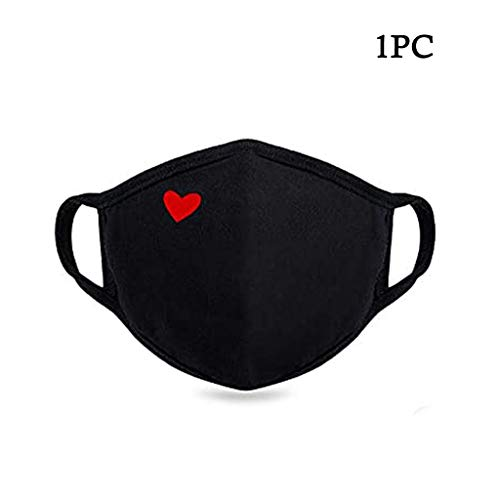 JIekyoi Facial Protección Cubrir para Hombres Y Mujer, Reutilizable, Lavable, A Prueba de Polvo Anti-Spray, Pantalla Protectora Cara, Protector Facial Tela - 1PC