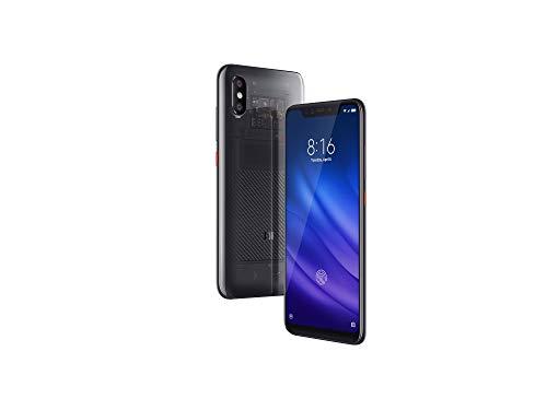 Xiaomi Mi 8 Pro - Smartphone Dual SIM de 6.21' (4G, Qualcomm Snapdragon 845 2.8 GHz, RAM de 8 GB, Memoria de 128 GB, cámara de 12 MP) Color Titanio Transparente
