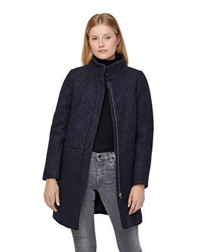 ICHI Damen UNIZ JA Mantel, Blau (Dark Navy 14049), 40 (Herstellergröße: L)