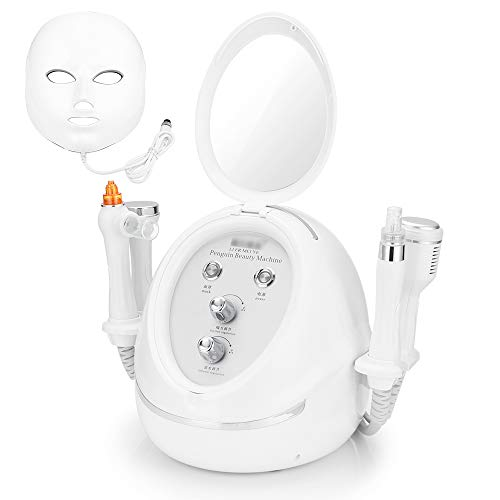 Water Hydro Microdermabrasion Machine, Multi-Functional Hydra Dermabrasion Facial Device for Nose and Face Skin Care at Home