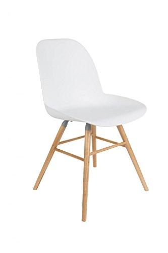Zuiver Stuhl Albert KUIP weiß - (1100292)