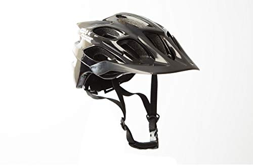 On-One Cycling Helmet XC MTB Helmet For Bike Bicycle Cycle (Small/Medium(54cm - 58cm) Gloss Black)