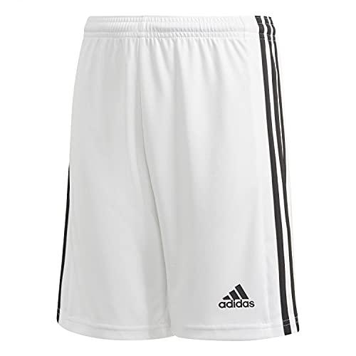 adidas Mädchen Squadra 21 Fu ball Shorts , Weiß, Schwarz, 14 Jahre EU