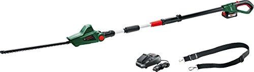 Bosch Cordless Telescopic Hedge Trimmer UniversalHedgePole 18 (1 Battery, 18...