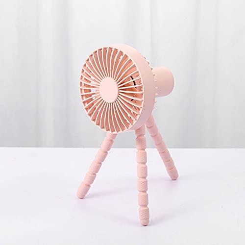 N\C Multifunctional Tripod Fan, 360 Degree Adjustable, Carry-in Built-in 1800mAh Battery