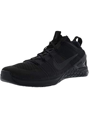 Nike Men's Metcon DSX Flyknit 2 X Black/White-Dynamic Yellow 10.0