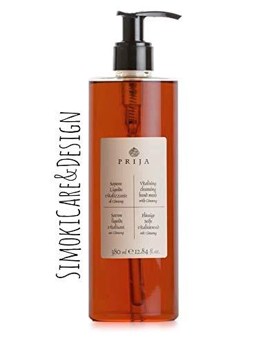 Prija Flüssigseife Seife Soap Wellness Spa Ginseng 380ml und Pumpspender
