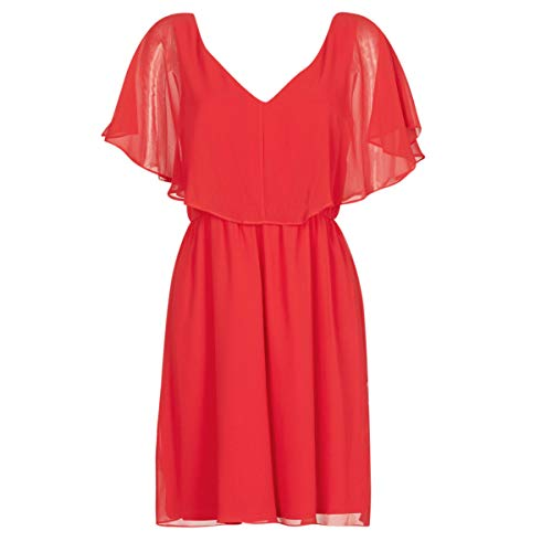 Naf Naf Lazale Vestido, Rojo (Lipstick Aabn), 36 para Mujer