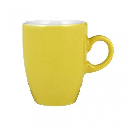Seltmann Weiden VIP. Espressotasse (5012), Mokkatasse, Tasse, Porzellan, Gelb, 90 ml, 1239921
